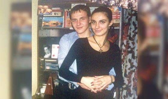 Молодая Елена Ваенга с певцом Михаилом Яцевичем