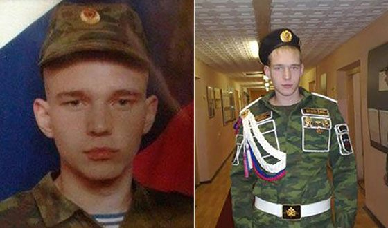 АлександрТимарцев в армии