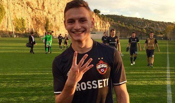 В ворота французского «Монако» Фёдор Чалов забил 4 гола