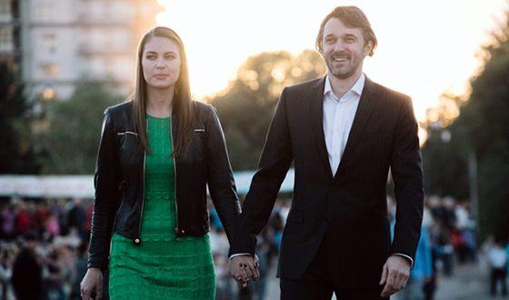 Юлия Мельникова и ее муж Павел Трубинер