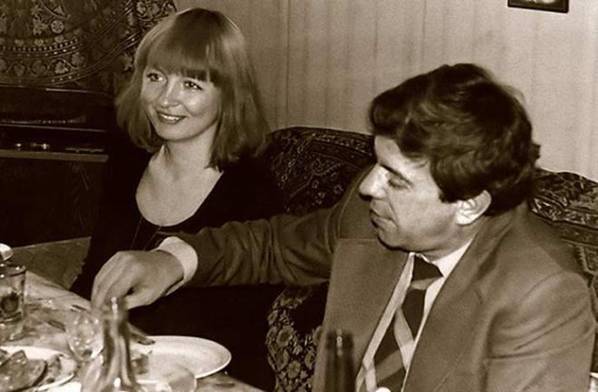 Вячеслав Шалевич с третьей женой Галиной