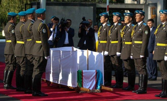 Похороны Ислама Каримова