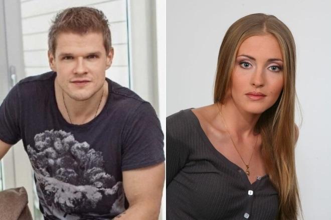 Владимир Яглыч и Анна Казючиц