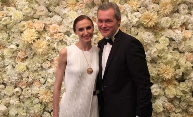 Светлана Захарова с мужем
