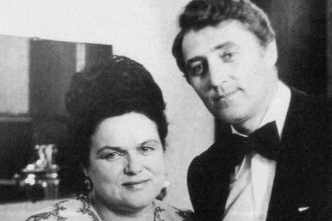 Людмила Зыкина и Виктор Гридин