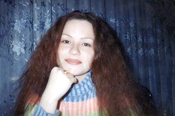 Татьяна Шаманина в юности