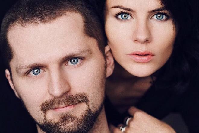 Натали Старынкевич и ее брат Арсений