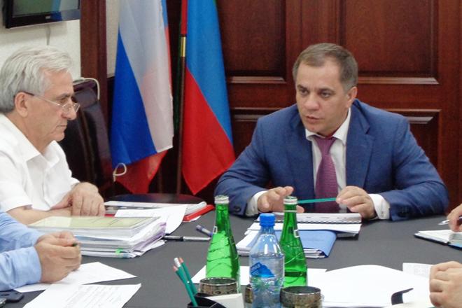 Заместитель председателя правительства Республики Дагестан Раюдин Юсуфов
