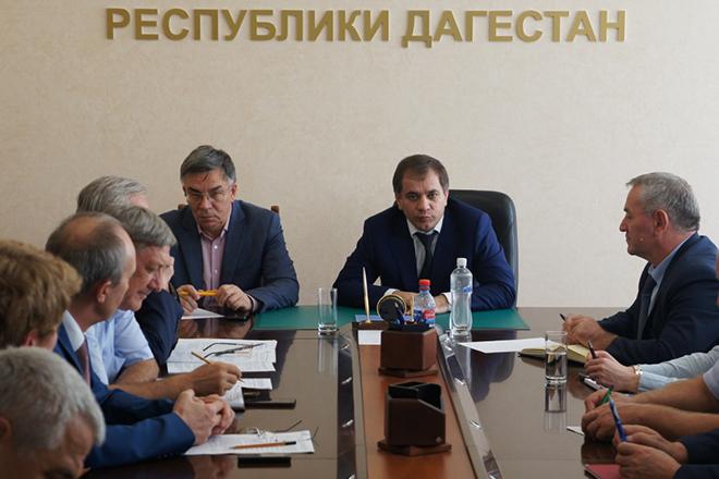 Министр экономики Дагестана Раюдин Юсуфов