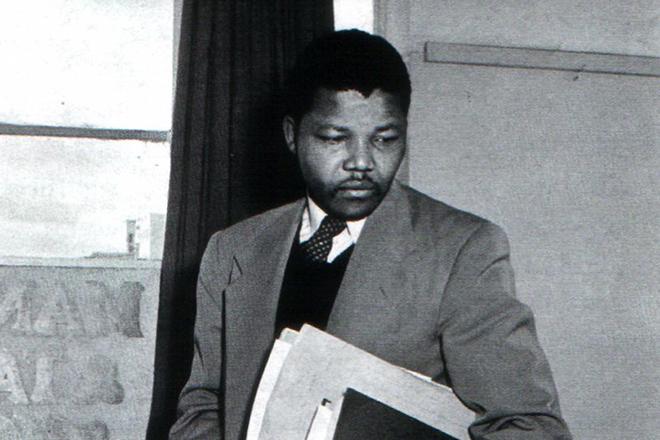 Нельсон Мандела в университете