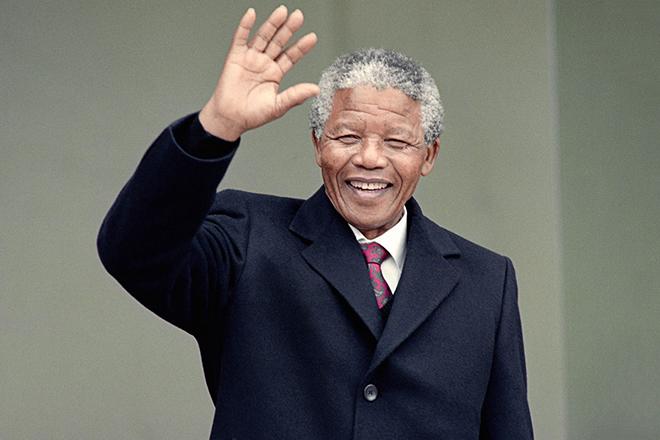 Президент Нельсон Мандела