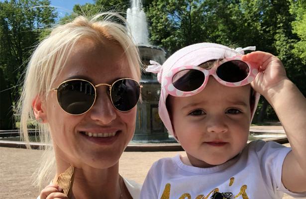 Татьяна Волосожар с дочкой