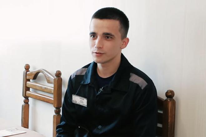 Сергей Семенов в тюрьме