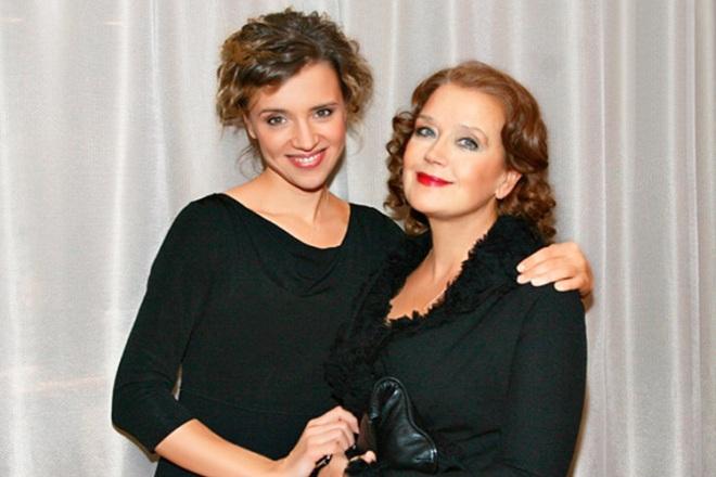 Ирина Алфёрова с дочерью