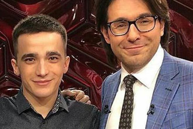 Сергей Семенов и Андрей Малахов в шоу «Прямой эфир»