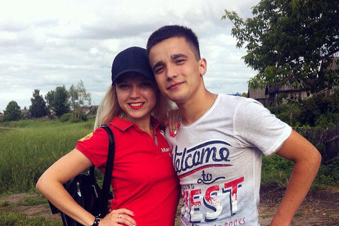 Сергей Семенов и его сестра Екатерина