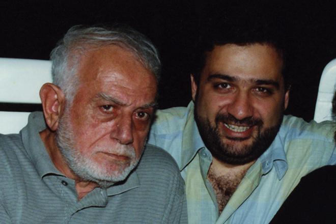 Рубен Варданян с отцом