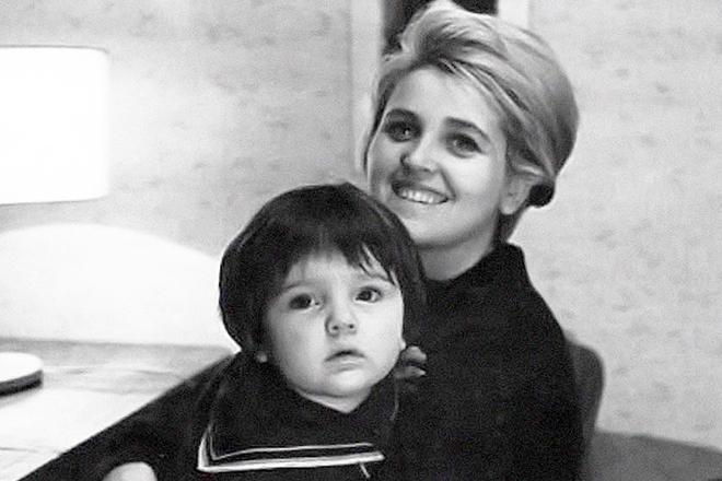 Инна Гулая с дочерью