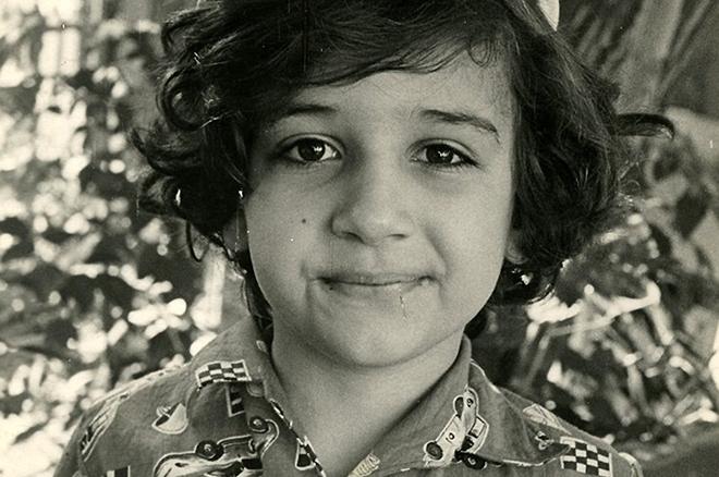 Рубен Варданян в детстве