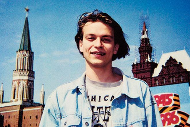 Анатолий Кот в молодости