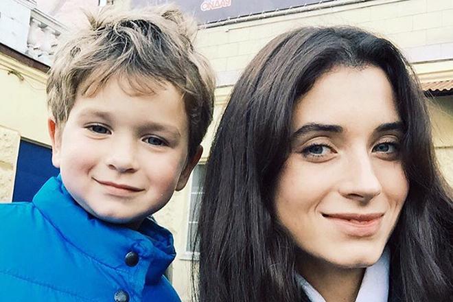 Мария Ахметзянова с сыном