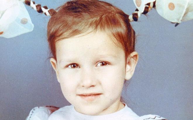 Татьяна Волосожар в детстве