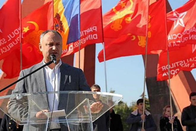 Государственный деятель Игорь Додон