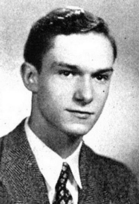 Хью Хефнер в молодости