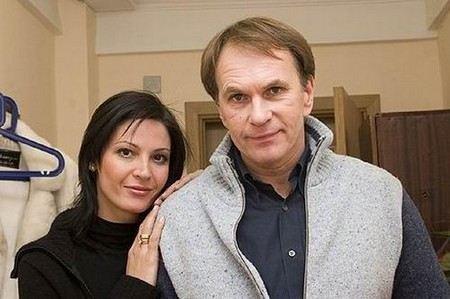 Лидия Вележева с мужем Алексеем Гуськовым