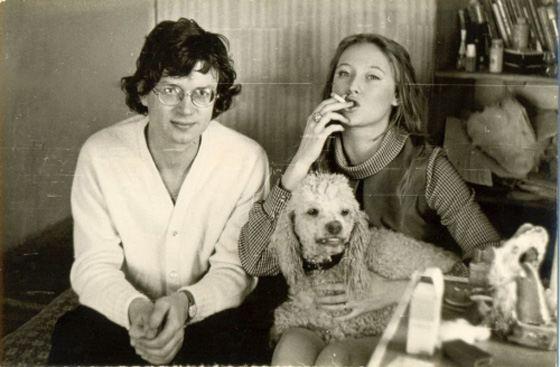 Эдуард Лимонов и его вторая жена Елена Щапова