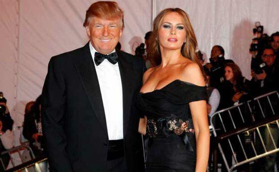Дональд Трамп и Мелани Кнаусс