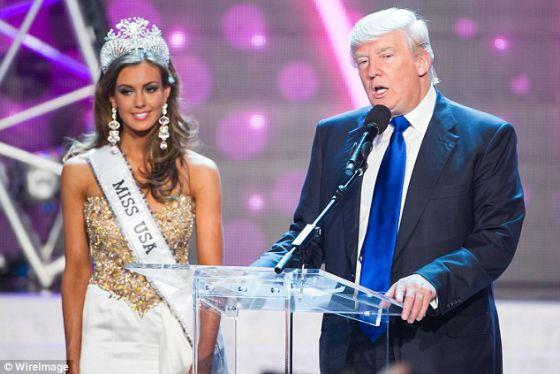 Дональд Трамп и Мисс Америка–2013