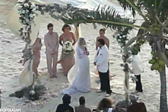 Фото со свадьбы Эмбер Херд и Джонни Деппа