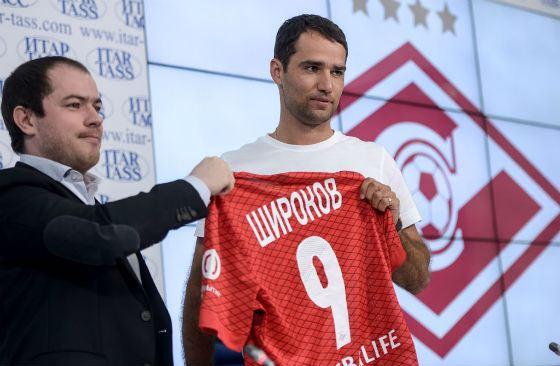 Сначала Роман Широков играл в Спартаке под номером 9