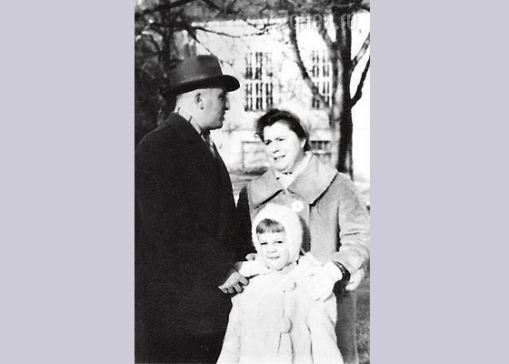 Любовь Казарновская в детстве
