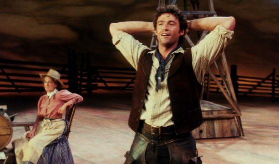 Хью Джекман в мюзикле «Оклахома»