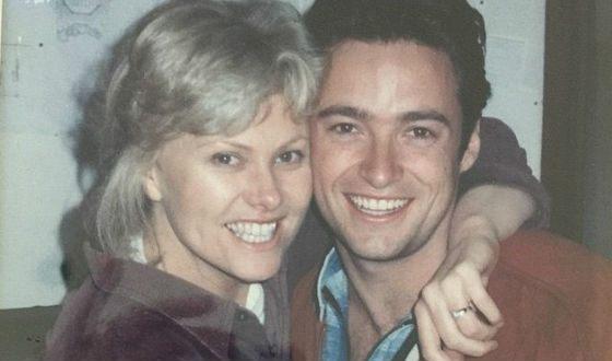 Хью Джекман с женой тогда...