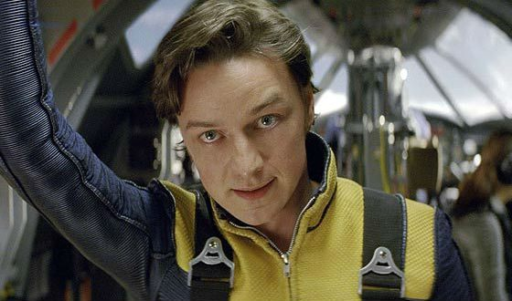 «Люди Икс»: Джеймс МакЭвой в роли профессора Ксавьера