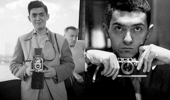 В юности Кубрик увлекся фотографией