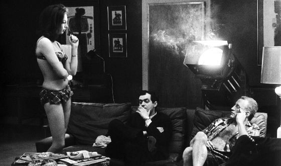 Съемки «Dr Strangelove», 1964 год