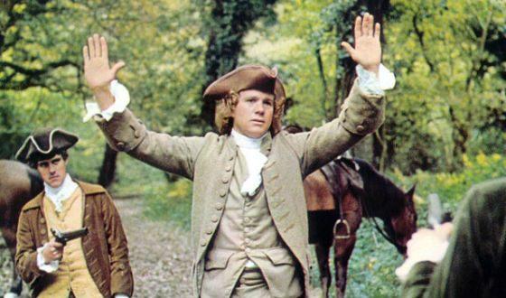 Кадр из исторической драмы «Барри Линдон»