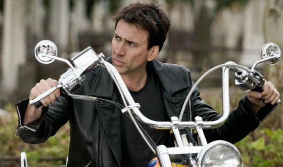Кадр из фильма «Призрачный гонщик»