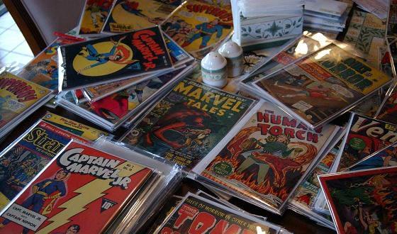 У Николаса Кейджа огромная коллекция комиксов