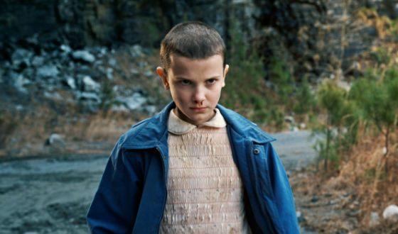 «Очень странные дела»: Милли Бобби Браун в роли Одиннадцать