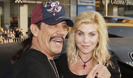 Дэнни Трехо и его бывшая жена Дебби Шреве