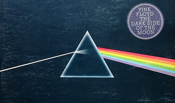 Обложка альбома Pink Floyd - The Dark Side Of The Moon