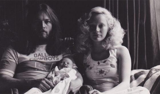 Дэвид Гилмор и его первая жена Джинджер