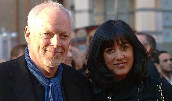 Дэвид Гилмор и его вторая жена Полли Сэмпсон