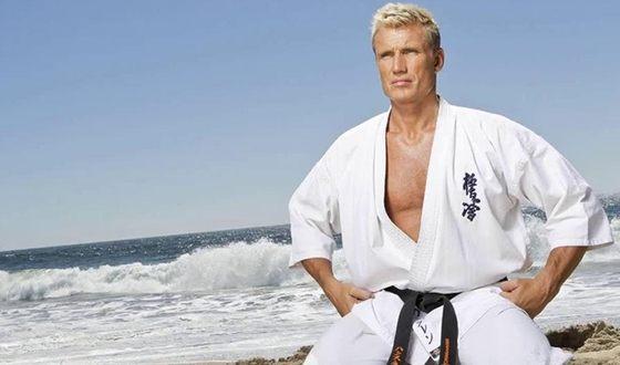 Дольф Лундгрен владеет черным поясом по карате