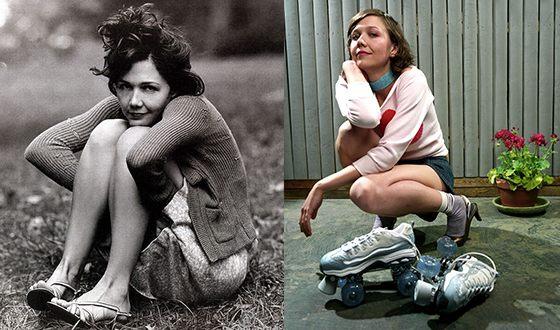 Мэгги Джилленхол в молодости